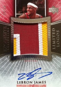 2005-06 Exquisite Collection Limited Logos Lebron James #LLLJ #:50