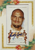 Randy Couture Cards, Rookie Cards and Autographed Memorabilia Guide