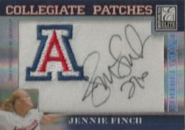 Jennie Finch Cards and Autographed Memorabilia Guide 4