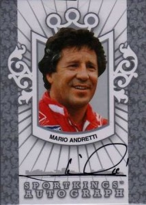 Mario Andretti Cards and Autographed Memorabilia Guide 5