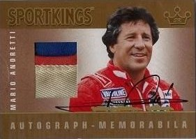 Mario Andretti Cards and Autographed Memorabilia Guide 7