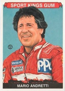 Mario Andretti Cards and Autographed Memorabilia Guide 4