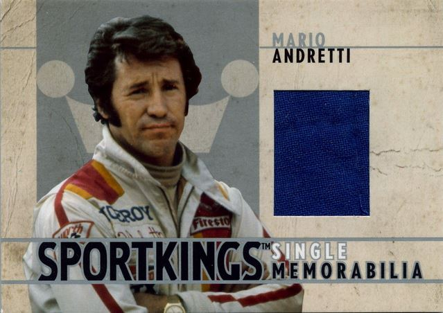 2007 Sportkings Single Memorabilia Mario Andretti