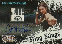 Gina Carano MMA Cards and Autographed Memorabilia Guide 3