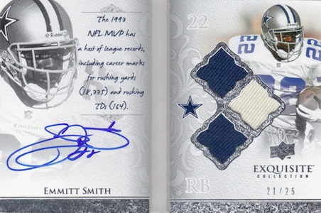 Top 10 Emmitt Smith Cards of All-Time 10