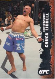 2009 Topps UFC Chuck Liddell #39