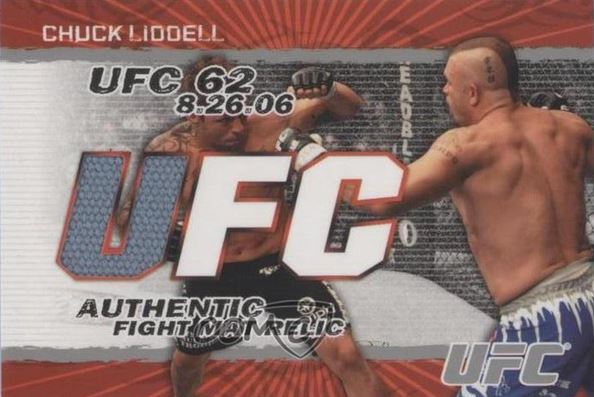 Chuck Liddell Cards, Rookie Cards and Autographed Memorabilia Guide 5