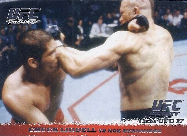 2009 Topps UFC Round 1 Chuck Liddell #5