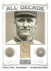 Walter Johnson Cards and Autograph Guide 26