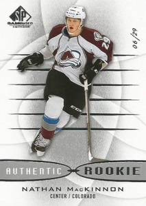 2013 14 SP Game Used Nathan MacKinnon RC 213x300 Image
