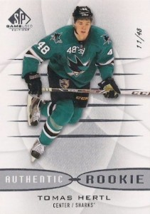 2013-14 SP Game Used Tomas Hertl RC