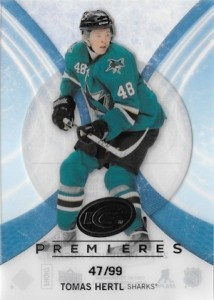 2013-14 Upper Deck Ice Tomas Hertl RC