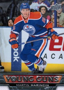 See All 100 of the 2013-14 Upper Deck Hockey Young Guns 53