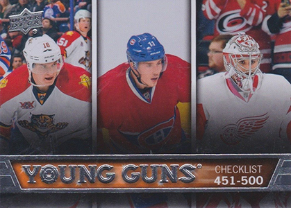 See All 100 of the 2013-14 Upper Deck Hockey Young Guns 100