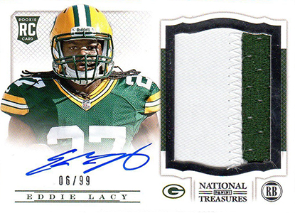 Eddie Lacy Rookie Card Checklist and Visual Guide 16