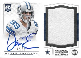 Treasure Chest: 2013 National Treasures Rookie Patch Autograph Gallery 25