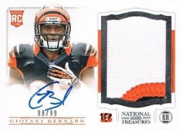 Giovani Bernard Rookie Card Checklist and Guide 27