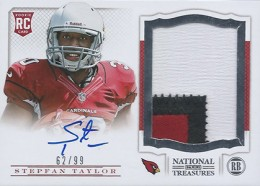 Treasure Chest: 2013 National Treasures Rookie Patch Autograph Gallery 37