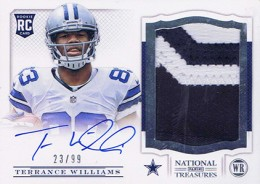 Treasure Chest: 2013 National Treasures Rookie Patch Autograph Gallery 38