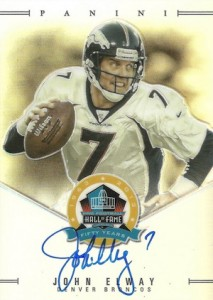 2013 Panini Spectra Hall of Fame Autographs John Elway #JE #:50
