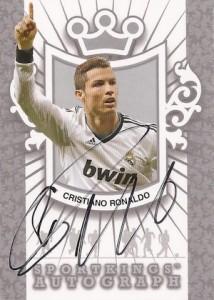 2013 Sportkings Autographs Silver Cristiano Ronaldo