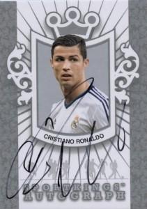 2013 Sportkings Autographs Silver Cristiano Ronaldo 2