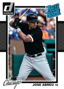 2014 Donruss Baseball Wrapper Redemption Rated Jose Abreu