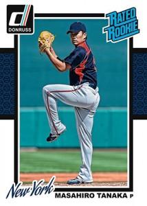 2014 Donruss Baseball Wrapper Redemption Rated Masahiro Tanaka