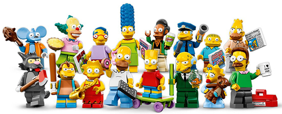 2014 LEGO Simpsons Minifigures 1