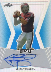 Johnny Manziel Autographs Kickstarting 2014 Football Card Season 2