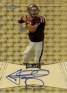 Johnny Manziel Autographs Kickstarting 2014 Football Card Season 1