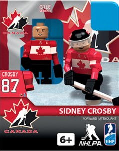 2014 OYO NHL Mini Figures Sidney Crosby Canada
