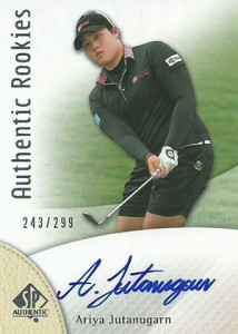2014 SP Authentic Gold Authentic Rookies Autographs 104 Ariya Jutanugarn