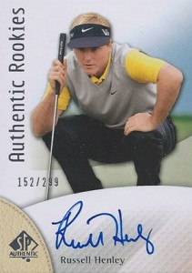 2014 SP Authentic Gold Authentic Rookies Autographs 105 Russell Henley