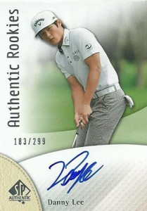 2014 SP Authentic Gold Authentic Rookies Autographs 107 Danny Lee