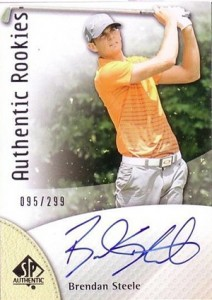 2014 SP Authentic Gold Authentic Rookies Autographs 108 Brendan Steele