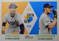 2014 Topps Heritage Baseball Cards 48