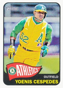 2014 Topps Heritage Baseball Variation Short Prints and Errors Guide 165