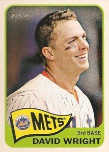 2014 Topps Heritage David Wright