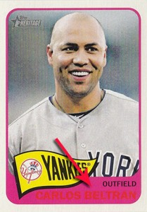 2014 Topps Heritage Baseball Variation Short Prints and Errors Guide 192