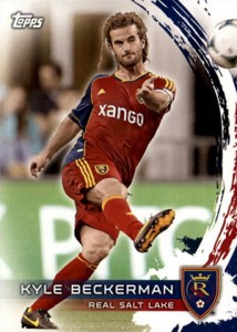 2014 Topps MLS 107 Kyle Beckerman