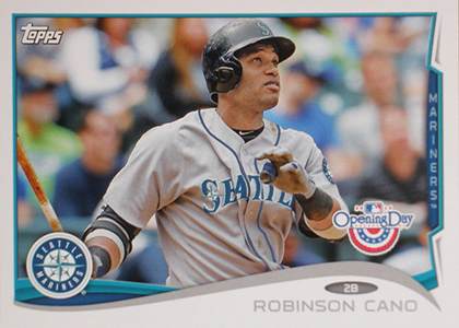 2014 Topps Opening Day Baseball Variations Guide 43