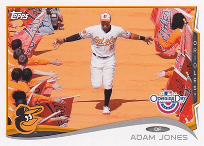 2014 Topps Opening Day Baseball Variations Guide 24