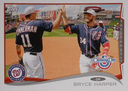 2014 Topps Opening Day Baseball Variations Guide 46