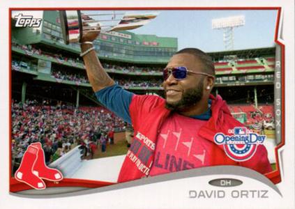 2014 Topps Opening Day Baseball Variations David Ortiz
