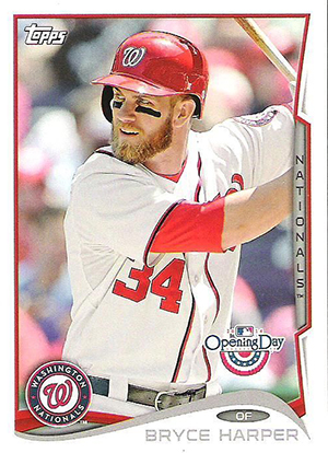 2014 Topps Opening Day Baseball Cards 21