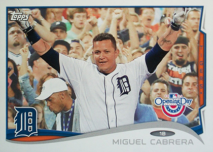 2014 Topps Opening Day Baseball Variations Guide 21