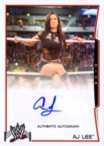 2014 Topps WWE Autographs Gallery and Guide 1