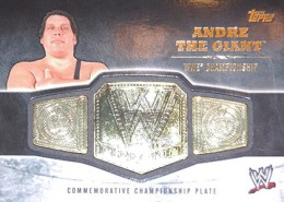 2014 Topps WWE Championship Belt Andre the Giant