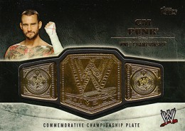 2014 Topps WWE Championship Belts Guide  4